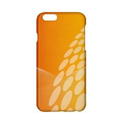 Abstract Orange Background Apple iPhone 6/6S Hardshell Case