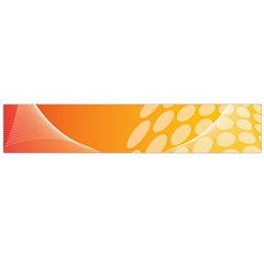 Abstract Orange Background Flano Scarf (Large)