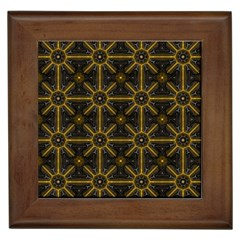 Digitally Created Seamless Pattern Tile Framed Tiles