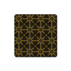 Digitally Created Seamless Pattern Tile Square Magnet