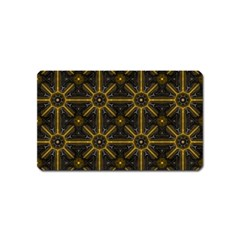 Digitally Created Seamless Pattern Tile Magnet (name Card)