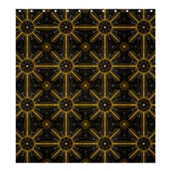 Digitally Created Seamless Pattern Tile Shower Curtain 66  X 72  (large)