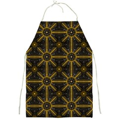 Digitally Created Seamless Pattern Tile Full Print Aprons