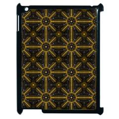 Digitally Created Seamless Pattern Tile Apple iPad 2 Case (Black)
