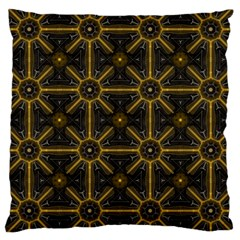 Digitally Created Seamless Pattern Tile Large Cushion Case (one Side)