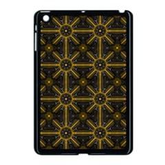 Digitally Created Seamless Pattern Tile Apple iPad Mini Case (Black)