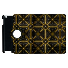 Digitally Created Seamless Pattern Tile Apple iPad 3/4 Flip 360 Case