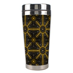 Digitally Created Seamless Pattern Tile Stainless Steel Travel Tumblers