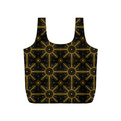 Digitally Created Seamless Pattern Tile Full Print Recycle Bags (s)