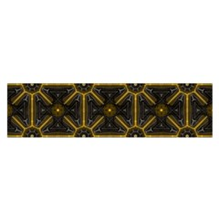 Digitally Created Seamless Pattern Tile Satin Scarf (Oblong)
