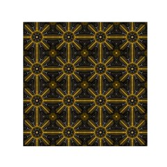 Digitally Created Seamless Pattern Tile Small Satin Scarf (Square)
