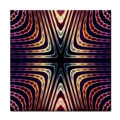 Vibrant Pattern Colorful Seamless Pattern Tile Coasters