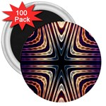 Vibrant Pattern Colorful Seamless Pattern 3  Magnets (100 pack) Front
