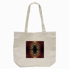 Vibrant Pattern Colorful Seamless Pattern Tote Bag (Cream)