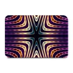 Vibrant Pattern Colorful Seamless Pattern Plate Mats