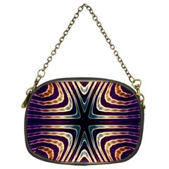 Vibrant Pattern Colorful Seamless Pattern Chain Purses (two Sides)