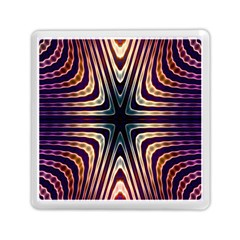 Vibrant Pattern Colorful Seamless Pattern Memory Card Reader (square)