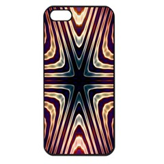 Vibrant Pattern Colorful Seamless Pattern Apple iPhone 5 Seamless Case (Black)