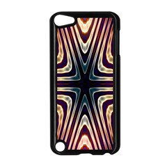 Vibrant Pattern Colorful Seamless Pattern Apple iPod Touch 5 Case (Black)