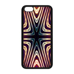 Vibrant Pattern Colorful Seamless Pattern Apple iPhone 5C Seamless Case (Black)