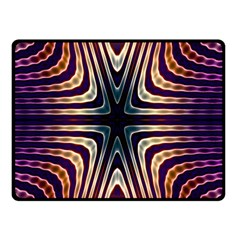 Vibrant Pattern Colorful Seamless Pattern Double Sided Fleece Blanket (Small)