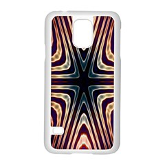 Vibrant Pattern Colorful Seamless Pattern Samsung Galaxy S5 Case (White)