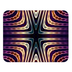 Vibrant Pattern Colorful Seamless Pattern Double Sided Flano Blanket (Large)