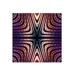Vibrant Pattern Colorful Seamless Pattern Satin Bandana Scarf