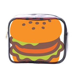 Hamburger Mini Toiletries Bags