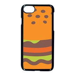 Hamburger Apple Iphone 7 Seamless Case (black)