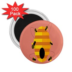 Honeycomb Wasp 2 25  Magnets (100 Pack)