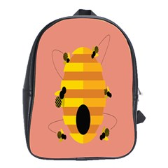 Honeycomb Wasp School Bags(Large)