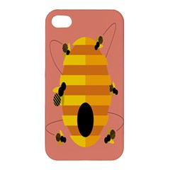 Honeycomb Wasp Apple iPhone 4/4S Hardshell Case