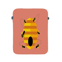 Honeycomb Wasp Apple Ipad 2/3/4 Protective Soft Cases