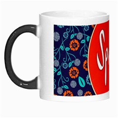 Floral Texture Pattern Card Floral Seamless Vector Morph Mugs