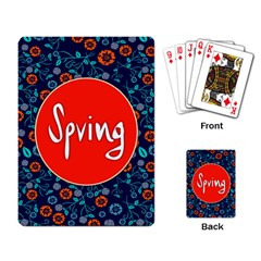 Floral Texture Pattern Card Floral Seamless Vector Playing Card