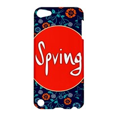 Floral Texture Pattern Card Floral Seamless Vector Apple iPod Touch 5 Hardshell Case