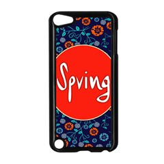 Floral Texture Pattern Card Floral Seamless Vector Apple iPod Touch 5 Case (Black)