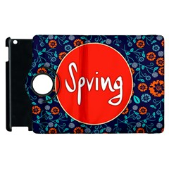Floral Texture Pattern Card Floral Seamless Vector Apple iPad 2 Flip 360 Case