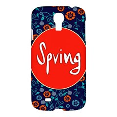 Floral Texture Pattern Card Floral Seamless Vector Samsung Galaxy S4 I9500/i9505 Hardshell Case