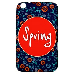 Floral Texture Pattern Card Floral Seamless Vector Samsung Galaxy Tab 3 (8 ) T3100 Hardshell Case