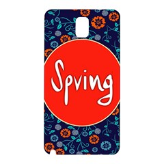 Floral Texture Pattern Card Floral Seamless Vector Samsung Galaxy Note 3 N9005 Hardshell Back Case