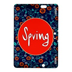 Floral Texture Pattern Card Floral Seamless Vector Kindle Fire HDX 8.9  Hardshell Case