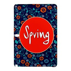 Floral Texture Pattern Card Floral Seamless Vector Samsung Galaxy Tab Pro 10.1 Hardshell Case