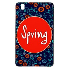 Floral Texture Pattern Card Floral Seamless Vector Samsung Galaxy Tab Pro 8.4 Hardshell Case
