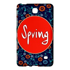Floral Texture Pattern Card Floral Seamless Vector Samsung Galaxy Tab 4 (7 ) Hardshell Case