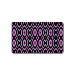 Colorful Seamless Pattern Vibrant Pattern Magnet (Name Card)