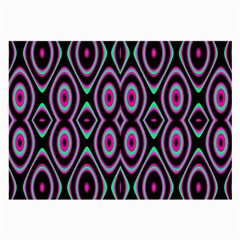 Colorful Seamless Pattern Vibrant Pattern Large Glasses Cloth (2 Side)