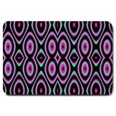 Colorful Seamless Pattern Vibrant Pattern Large Doormat