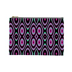 Colorful Seamless Pattern Vibrant Pattern Cosmetic Bag (large)
